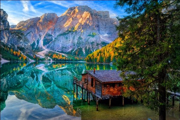 Отдых в Австрии и Италии