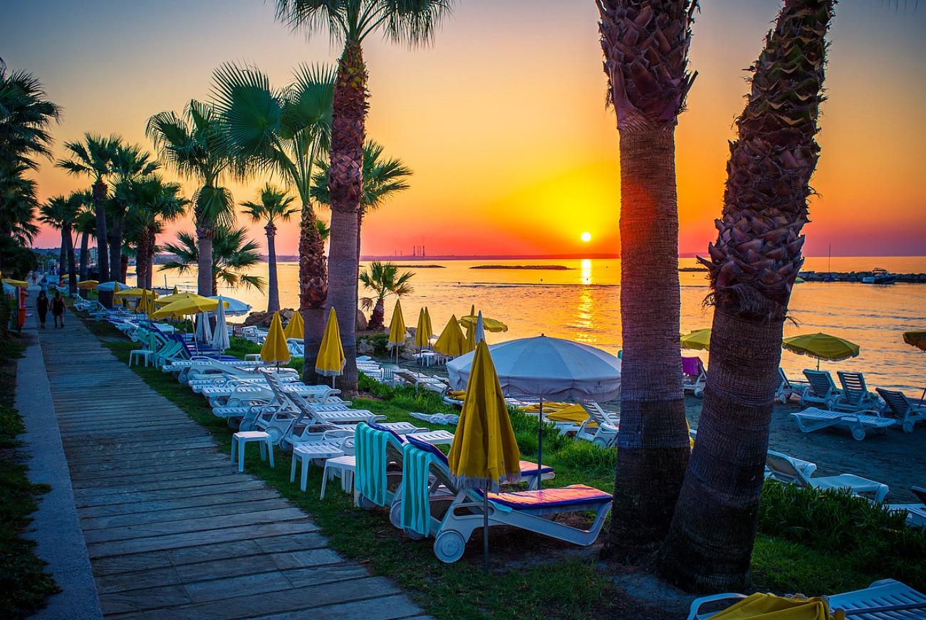 Закат Кипр Пафос