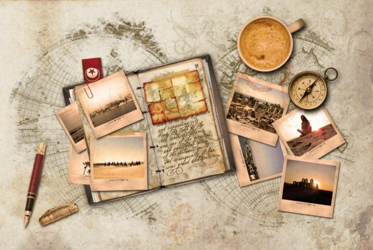 Дневник и компас