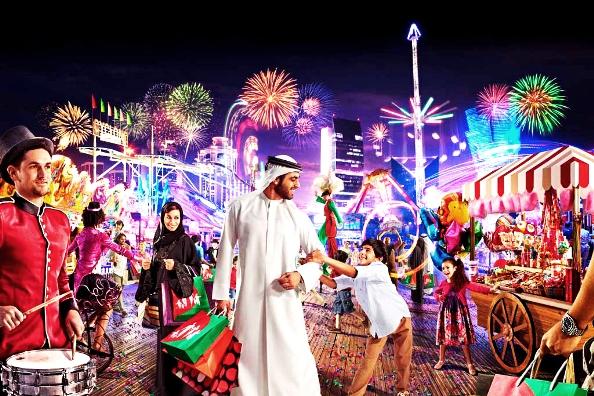 зимний торговый фестиваль в ОАЭ